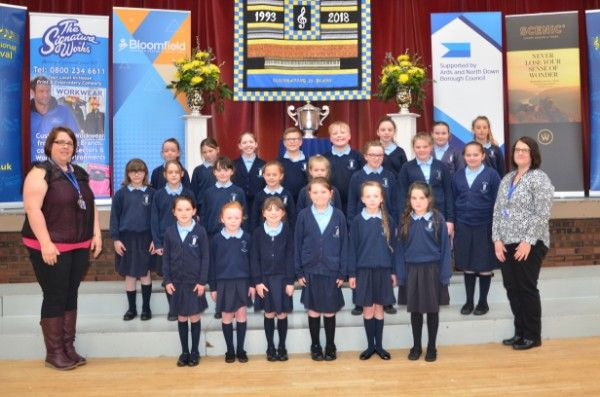 West Winds Primary School Joint runner up (under 30 singers)