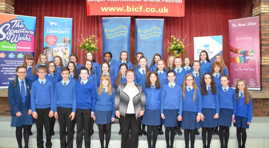 Loreto College, Coleraine Winner of 15 years & under  school choir